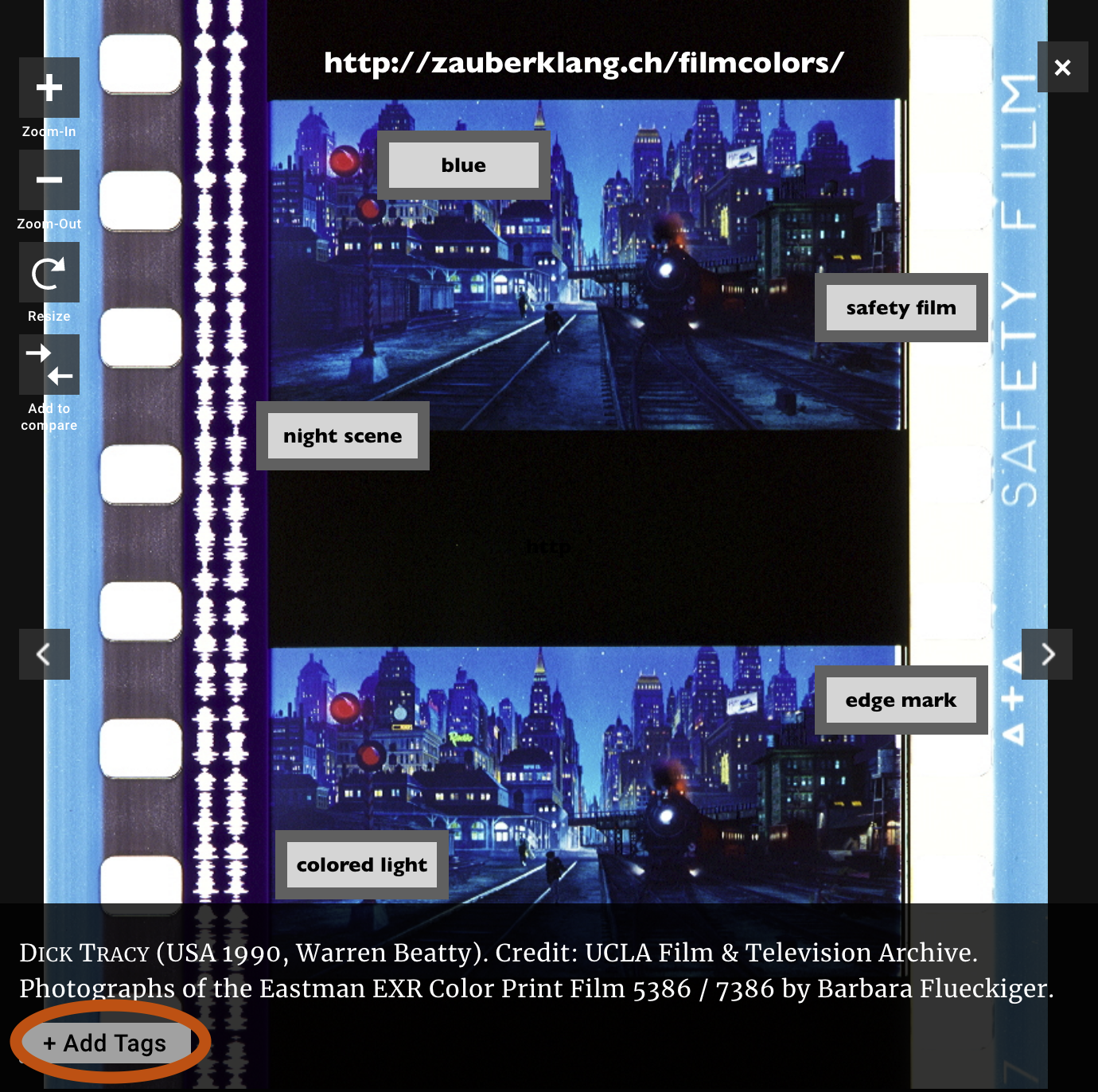 Add Your Own Tags to the Timeline of Historical Film Colors / Blog Post / Video Annotation